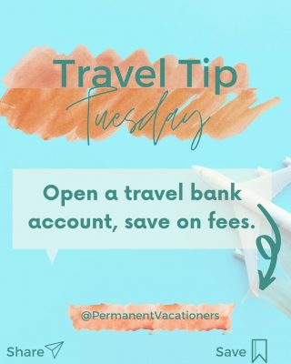 Are you still wasting money on foreign transaction fees and ATM costs? $$$ ⠀⠀⠀⠀⠀⠀⠀⠀⠀ If you're taking an international trip, open a bank account that will reimburse you for these fees when you're taking out cash in a foreign country.  ⠀⠀⠀⠀⠀⠀⠀⠀⠀ Bonus - Add money to this account each month to start saving for your trip find.  I recommend Charles Schwab for no atm or transaction fees