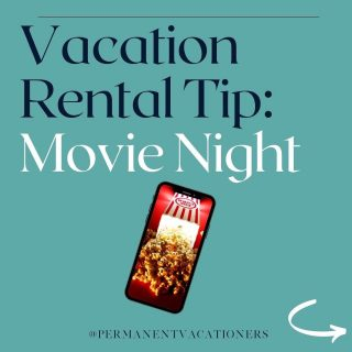 Would you live an Airbnb that had a free movie? Let me know what you'd watch! 👇🏻  Interested in starting your own vacation rental? Check out my link in bio for my FREE getting started resources!