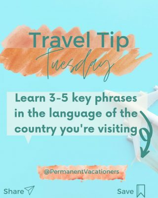 """In many languages can you say """"hello""""? Tell me below!  ⠀⠀⠀⠀⠀⠀⠀⠀⠀ Tip: Download Duolingo on your phone and get familiar with the language the locals speak! You'll feel more comfortable and the locals at your destination always appreciate when tourists make the extra effort to learn their language."""